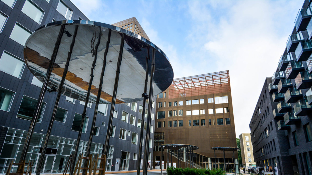 Campus Carlsberg billede af gården