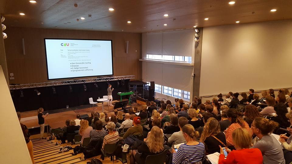Auditoriet til Dansklærerens dag 2018