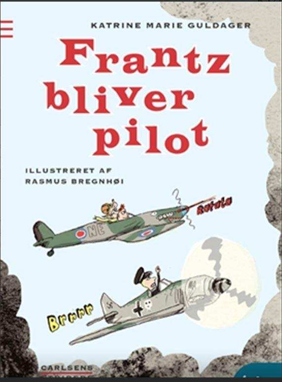 Frans bliver pilot bogforside