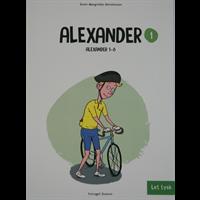 Bogforsidebillede af tysk bogen Alexander