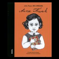 Billede af bogen Anne Frank til tysk