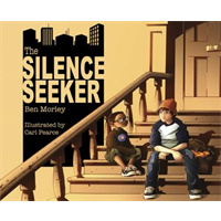 Billede til bogen The silence seeker